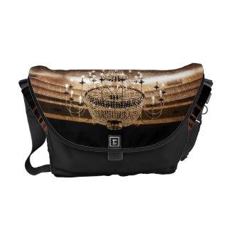Crystal Chandelier Dazzle Glitz Gla Bag Tote Purse Courier Bag