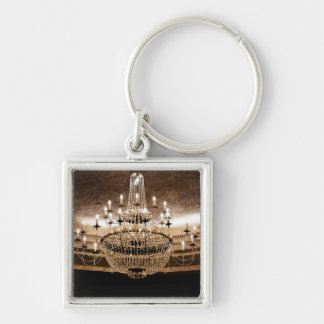 Crystal Chandelier Dazzle Glitz Glam Gla Key Chain