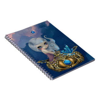"""Crystal Chariot"" Notebook"