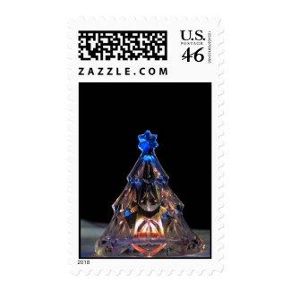 Crystal Christmas Tree Postage Stamps