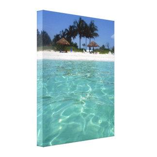 crystal clear bahamas canvas
