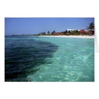 crystal clear bahamas card