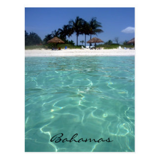 crystal clear bahamas postcard