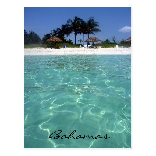 crystal clear bahamas postcards