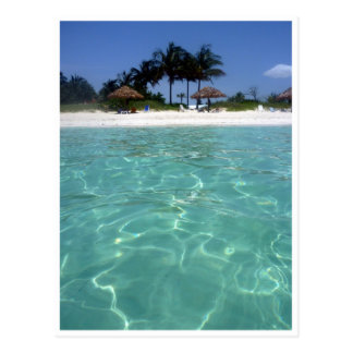 crystal clear bahamas waters post cards