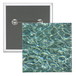 Crystal Clear Blue Water Surface Reflections Pins