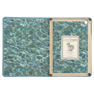 Crystal Clear Blue Water Surface Reflections iPad Air Cover