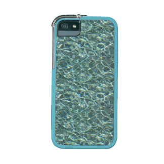 Crystal Clear Blue Water Surface Reflections iPhone 5/5S Case