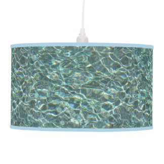 Crystal Clear Blue Water Surface Reflections Lamps