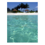 crystal clear waters post card