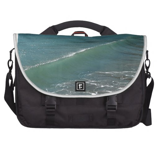 Crystal Clear Wave Movement Commuter Bags