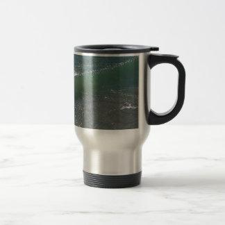 Crystal Clear Wave Movement Travel Mug