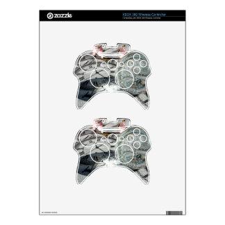 Crystal Clocks Xbox 360 Controller Skin