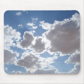 Crystal Clouds Mouse Pad