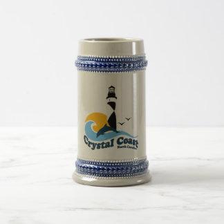 Crystal Coast. Beer Stein