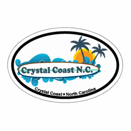 Crystal Coast. Photo Sculpture Magnet