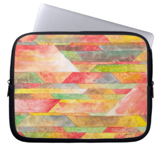 Crystal Colors Abstract Laptop Bag Computer Sleeves