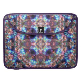 Crystal Cosmos Mandala Sleeve For MacBook Pro