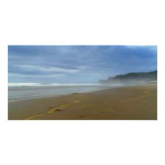 Crystal Cove Digital Art Beach 8 x 4 card