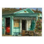 """""""Crystal Cove Holiday Shack"""" Cards"""