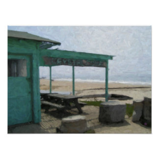 """Crystal Cove Shack"" Poster"
