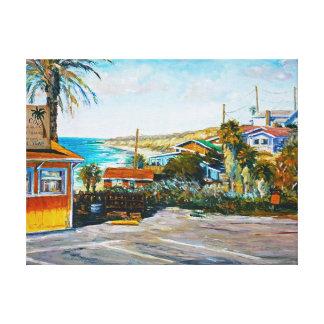 Crystal Cove Snacks Canvas Print