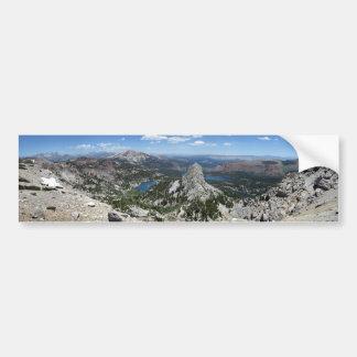 Crystal Crag Mammoth Lakes Basin Mammoth Crest Bumper Sticker