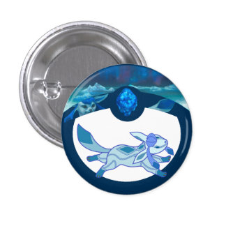 Crystal Critter Pinback Button