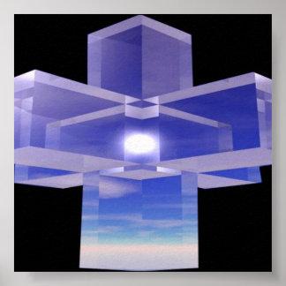 Crystal Cross Poster