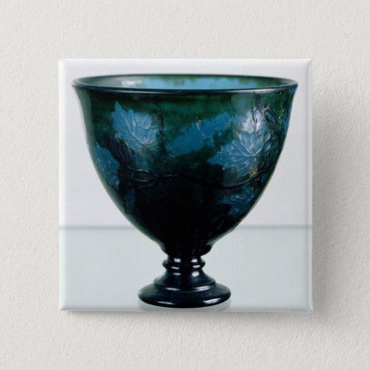 Crystal cup, 'Par une Telle Nuit', 1894 Button