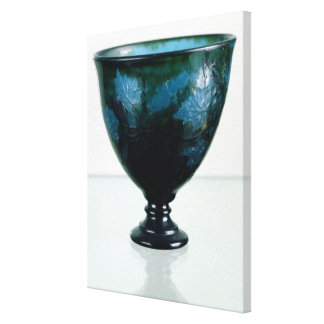 Crystal cup, 'Par une Telle Nuit', 1894 Canvas Print
