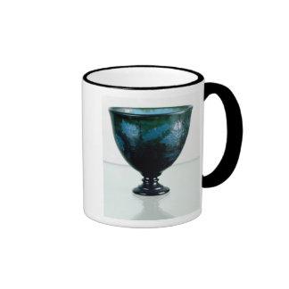 Crystal cup, 'Par une Telle Nuit', 1894 Ringer Coffee Mug