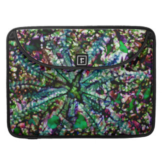 "Crystal Daylight blue green multi Macbook 15"" Sleeve For MacBook Pro"