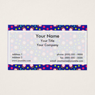 Crystal Debian Linux Business Card