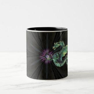 crystal dragon kaleidescope mug