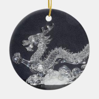 Crystal Dragon Ornament