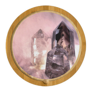 Crystal Dreams Round Cheeseboard