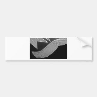 Crystal Eagle Bumper Sticker