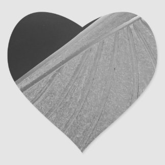 Crystal Eagle Heart Sticker