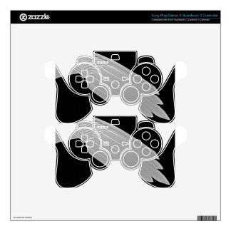 Crystal Eagle PS3 Controller Decals