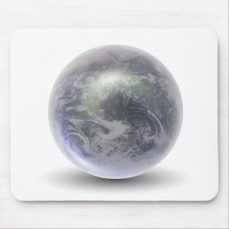 Crystal Earth Globe Mouse Pad