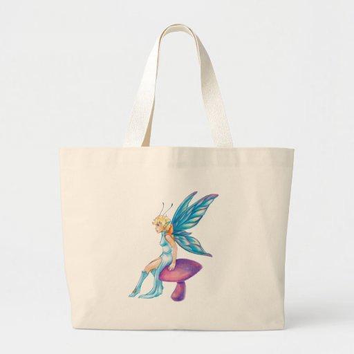 Crystal Faerie Tote Bags
