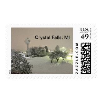 Crystal Falls, MI Stamps