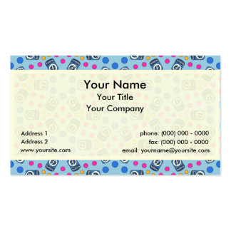 Crystal Fedora Linux Business Card