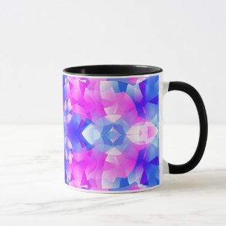 Crystal Flowers Mandala Mug