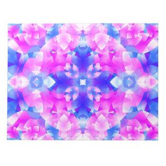 Crystal Flowers Mandala Notepad