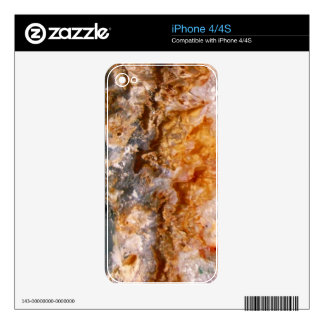 Crystal Formation iPhone 4 Skin