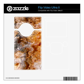 Crystal Formation Flip Video Ultra II Skin
