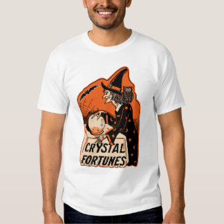 Crystal Fortunes Halloween Witch Vintage Tshirt