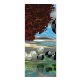 Crystal Garden, Abstract Green Gold Light Card